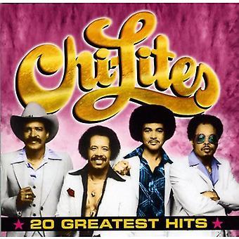 Chi-Lites - 20 Greatest Hits [CD] USA import