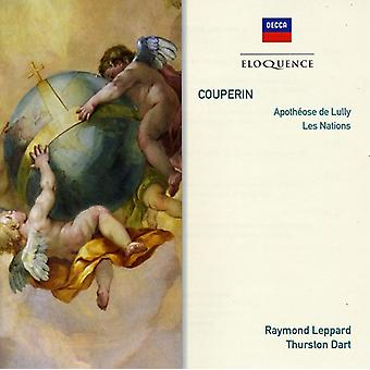 Raymond Leppard - Eloq: Couperin-Apotheose De Lully Les Nations [CD] USA import