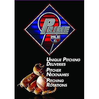 Prime 9: Unique Pitching Deliveries / Pitcher [DVD] USA import