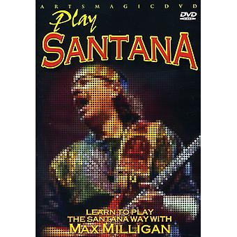 Santana - Play Santana [DVD] USA import