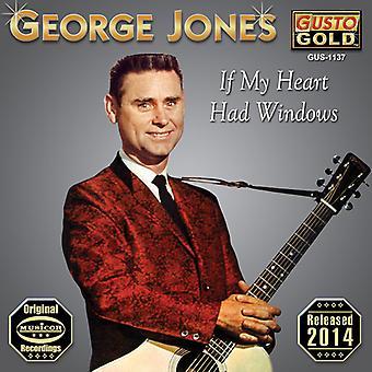 George Jones - importación de Estados Unidos si mi corazón tenía Windows [CD]