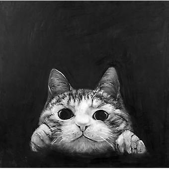 アトリエ B アート スタジオでおさる猫ポスター印刷
