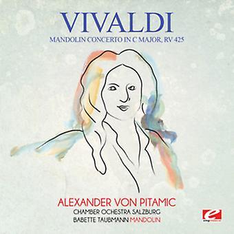 Vivaldi - concierto para mandolina en importación de Estados Unidos C mayor Rv 425 [CD]