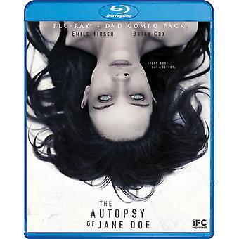 Autopsie van Jane Doe [Blu-ray] USA import