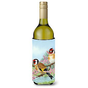 الحسون الأوروبي النبيذ زجاجة المشروبات عازل نعالها