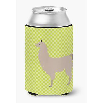 Carolines tesori BB7742CC Llama verde può o bottiglia Hugger