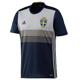 2016-2017 Швеции в Выездная футболка Adidas