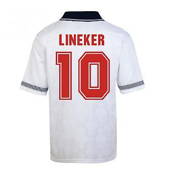 Scor Draw Anglia Cupa Mondială 1990 Home shirt (Lineker 10)