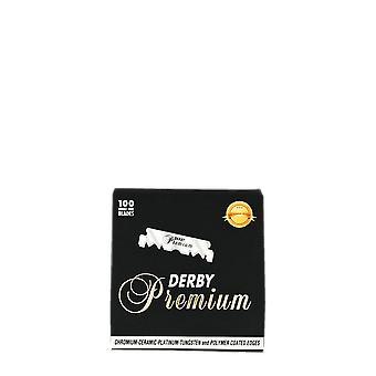 Derby Premium Single Edge Razor Blades (100 blades)