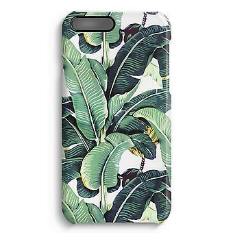 iPhone 7 Plus pełna obudowa głowiczki (błyszcząca) - liście bananowca