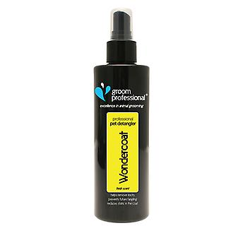 Groom Professional Wondercoat Dog Grooming Spray - Conditions Coat & Skin