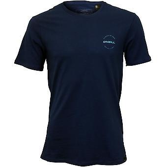 O ' Neill à travers la lentille Crew-Neck T-Shirt, bleu atlantique