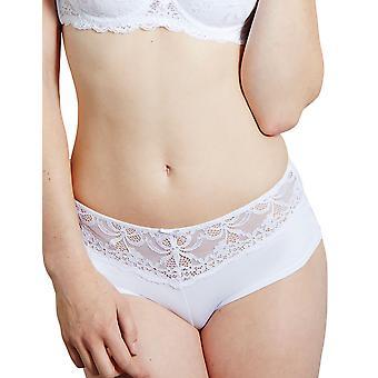 Chico Ginette blanco Lace Boyshort de Francia 301050 B Femenil