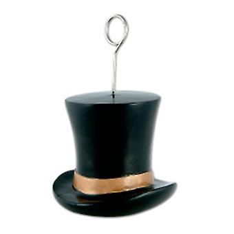 Titulaire Ballon Poids / Photos Top Hat noir et or