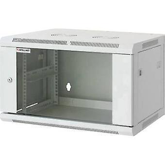 Intellinet 711722 19 wall cabinet (W x H x D) 570 x 370 x 450 mm 6 U Grey-white (RAL 7035)