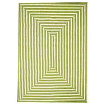 Outdoor carpet for Terrace / balcony green Vitaminic braid Green 200 / 285 cm carpet indoor / outdoor - for indoors and outdoors