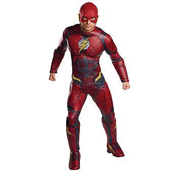 De Flash Deluxe spier borst Justice League Coombs voor de Mens