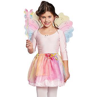 Schmetterling Set Kinder 2 tlg. Accessoire Karneval Fee