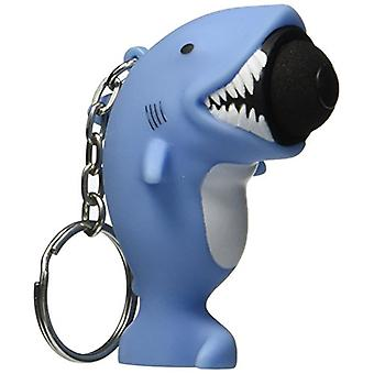 Hog Wild Toys Popper Shark Keychain