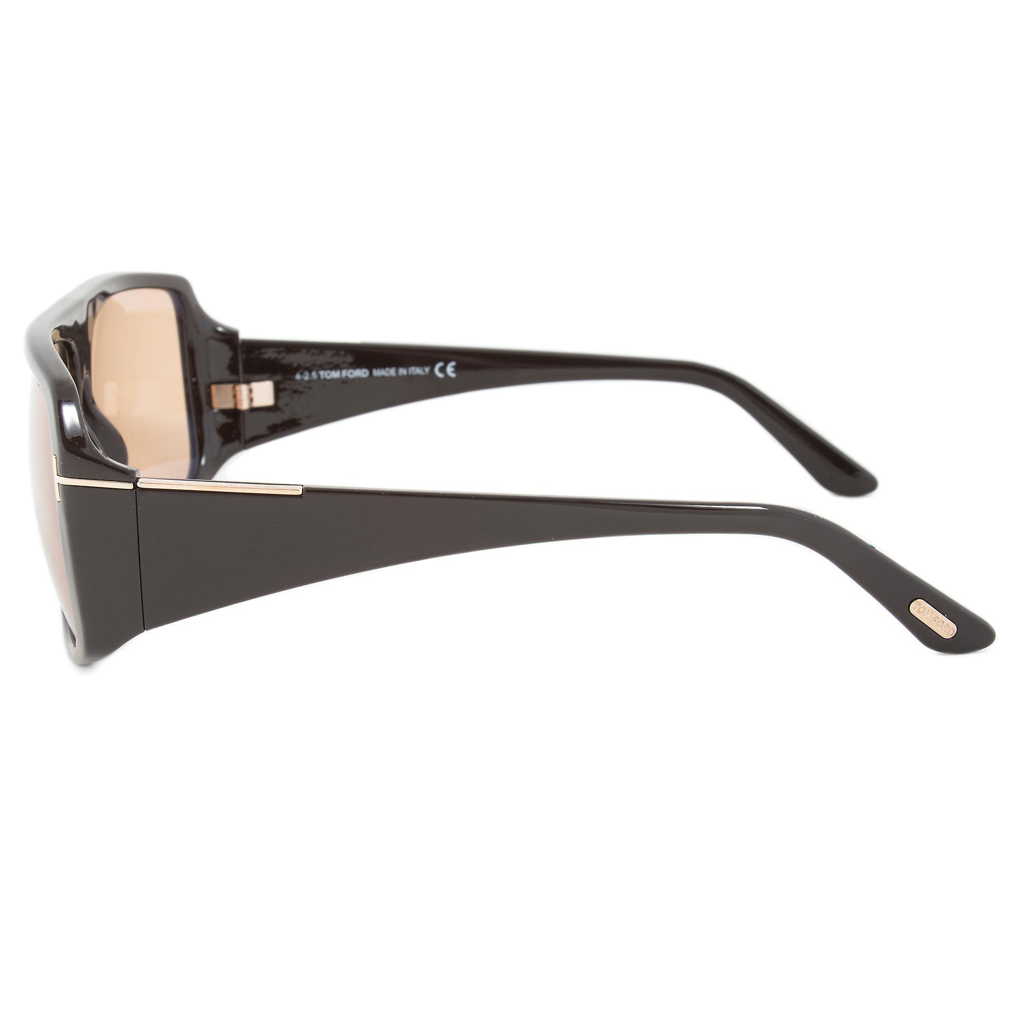 Tom Ford Harley Sunglasses FT0433 48J | Brown Frame | Roviex Lens