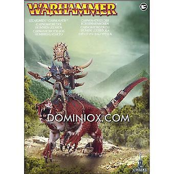 Warhammer hommes-lézards carnosaure