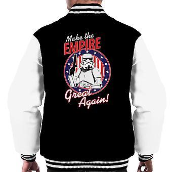 Stormtrooper original fazem o Império grande novo masculino jaqueta
