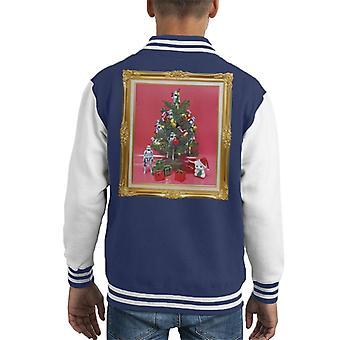 Original Stormtrooper Christmas Tree Kid's Varsity Jacket