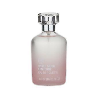 The Body Shop 'White Musk Libertine' Eau De Toilette 3.3oz/100ml New