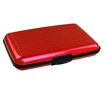 Secure Card Holder-Red