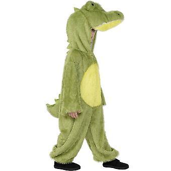 Krokotiili puku, keskipitkän.  Normaali ikä 7-9