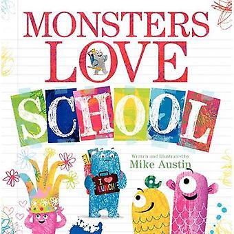 Monster kärlek skola! av Mike Austin - Mike Austin - 9780062286185 Bo