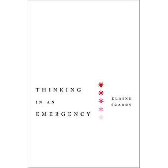 Thinking in an Emergency by Elaine Scarry - 9780393340587 Book