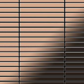 Mozaic metalic aliaj de cupru liniar-CM