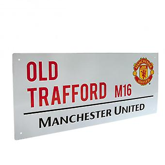 Manchester United FC Official Street Sign