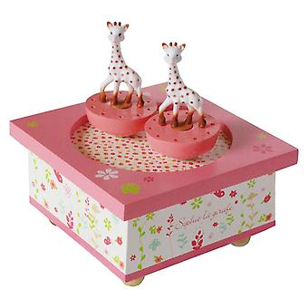 Sophie la giraffa Spinning Music Box