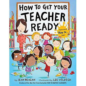 Comment préparez-vous votre professeur