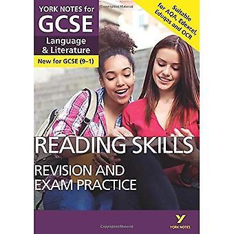 Englische Sprache und Literatur lesen Fähigkeiten Revision und Prüfung Praxis: York Hinweise für GCSE (9-1) (York Notes)