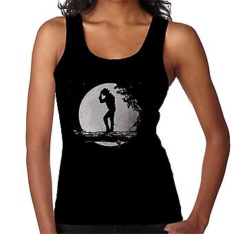 Colete Michael Jackson Moon silhueta feminina