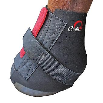 Cavallo Pastern Touch Fastening Horse Boot Wraps (Pack Of 2)