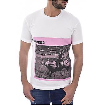 T shirt baumwolle print logo S71GD0720 - Dsquared2