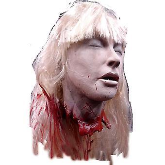 Blonde Debbie's Cut Off Head. Halloween Heads.