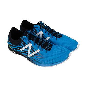 New Balance  Track Field Mens Blue Mesh Gym Athletic Spikes Shoes