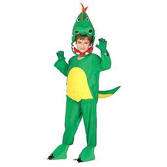 Boys Green Dinosaur T Rex Fancy Dress Costume