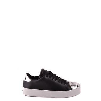 Pinko Ezbc056078 Kvinder's Sort Læder Sneakers