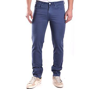 Pt05 Ezbc084020 Men's Blue Cotton Jeans