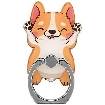 Grindstore mignon Corgi Phone Ring & stand