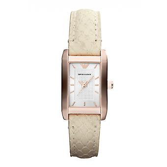 Emporio Armani Ar1655 rose or Ivoire Mesdames Watch