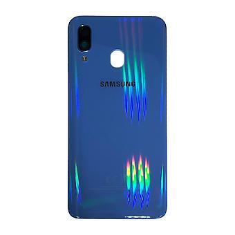 Samsung GH82-19406C κάλυμμα κάλυψης μπαταρίας για Galaxy A40 A405F + pad κόλλα μπλε νέο