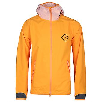Barbour Beacon Etterick Orange Hooded Jacket