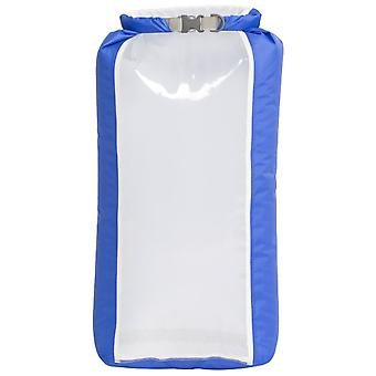 Exped Blue Fold Drybag Clear Sight 13L